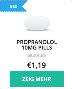 propranolol blutdrucksenkende medikamente